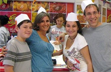 This Normal Life Family Photo at Jelly Belly