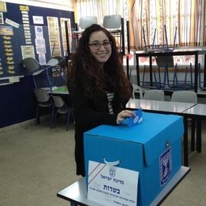 Merav votes