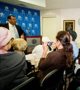 Moshe Lion at OU Center