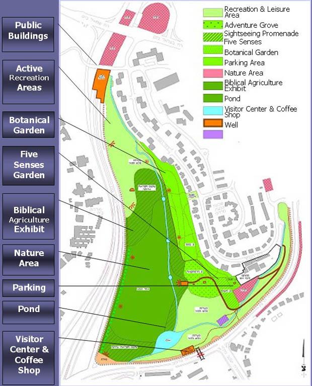 Gazelle Valley park plan