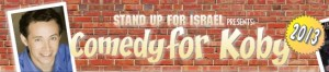 Comedy for Koby banner