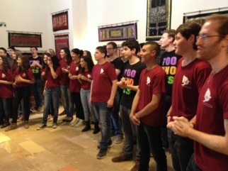 YMCA Chorus in t-shirts (sm)