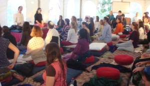 Meditation retreat picture
